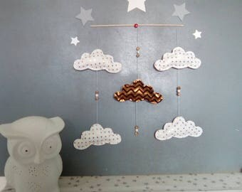 Clouds baby mobile * limited edition *.