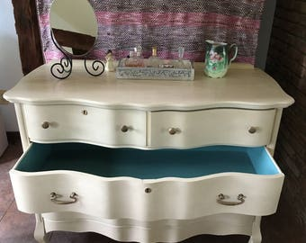 Antique French Style Dresser with Custom Design
