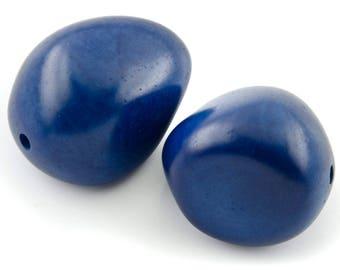 1 beautiful teal seed bead