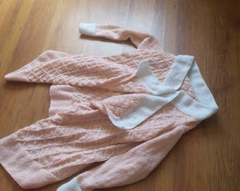 knitted asymmetrical sweater