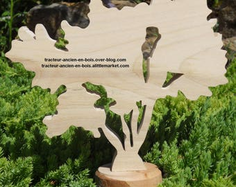 "WOODEN tree ""tamarisk"""