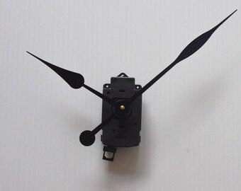 large PEAR long needles 17 + pendulum clock mechanism / 23cm DIY