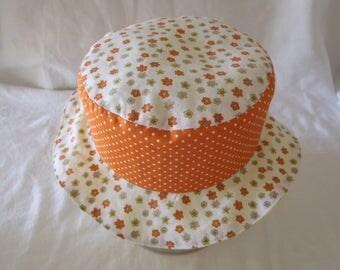 Hat - Reversible bucket Hat - 18-24 months (50.5 cm in diameter)