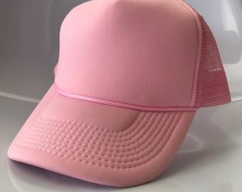 Light Pink Foam Cap