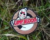 """Ghostbusters """"Haunted Friday 13th"""" Embroidered Patch"""