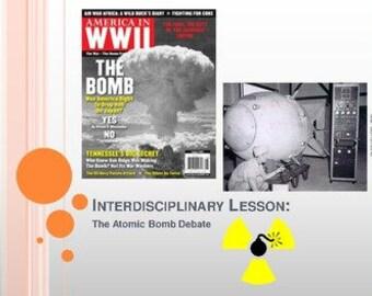 The Atomic Bomb Debate Lessons Bundle