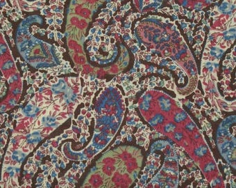 "Coupon genuine Liberty of London fabric 190 - ""Bourton""."