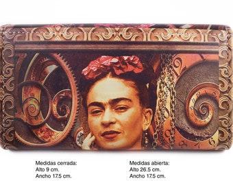 Frida Leather Clutch Wallet