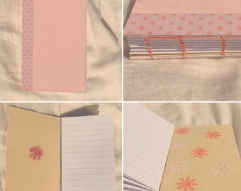 X-Small Pink Pocket Notebook