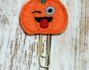 Sassy Pumpkin Planner Clip