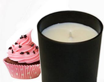 Natural scented candle, scented Cupcake 450 g