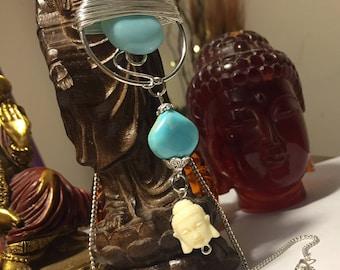 Serenity Now - Buddha Pendant Necklace