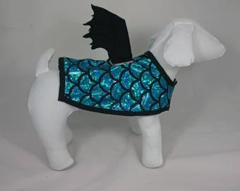 """Demon"" or ""Dragon"" Blue Dog costume"