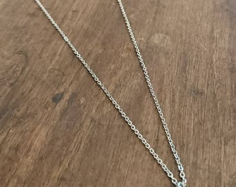 Rabbit stainless steel necklace