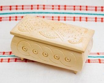 Jewelry box Wedding jewelry box Wooden jewelry box Ring box Wooden box Jewelry ring box Wood carving Jewellery box Wedding ring box wood