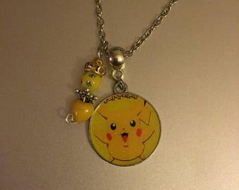 Handmade Happy Pika Necklace with Pendant