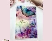 VELLUM DASHBOARD | Butterfly Dreams | Planner Stickers | Floral | Erin Condren | TN | V32