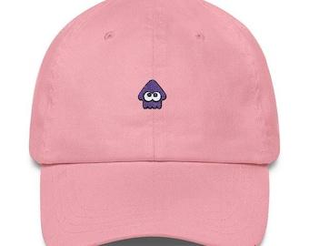 Purple Squid Hat - Splatoon Hat - Purple Squid Cap - Splatoon 2 Hat - Splatoon Squid Hat - Splatoon 2 Cap - Splatoon Squid Cap - Inkling Hat