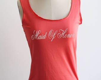 Weddig Tank Top, Bride Tank Top