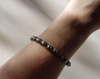 Bracelet metal effect
