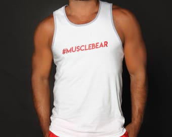 Musclebear 4Labels T-Shirt and Tank Top. Flirty and Fun 4Labelsapparel.com