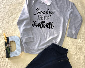 Sundays are for football - lightweight sweatshirt