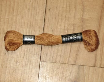 cotton embroidery FLOSS 32 m Brown DMC20