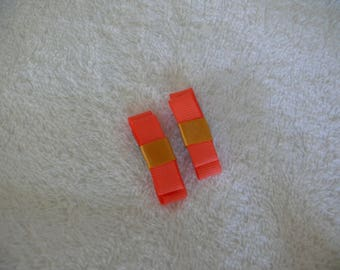 Set of 2 small colorful strips