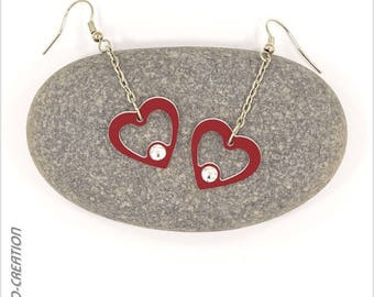 """Earrings collection """"SYL' heart"""""""
