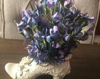 Floral Ceramic Shoe