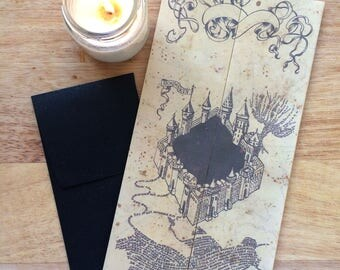 Marauder's Map (UPDATED!!! ) - Printable File