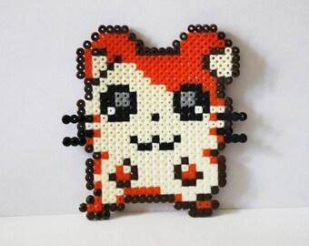 Hamtaro beads hama (pixel art)