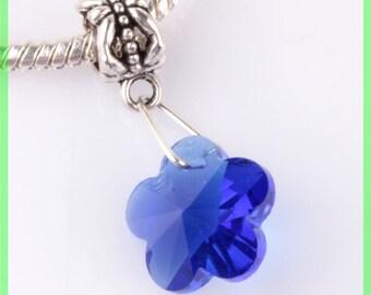 bail no. 67 clover European spacer bead for bracelet charms