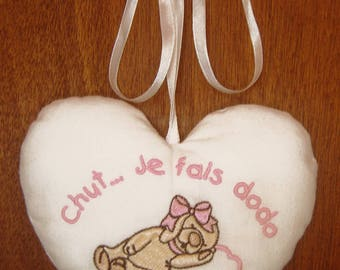 Cushion heart hanging for girl room decoration baby