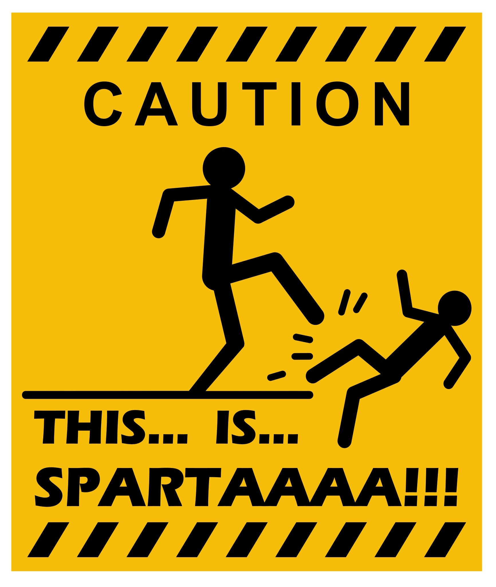 Funny Warning Sign Vinyl Decal For Personal Use At Home Office - Custom vinyl decal usage and application
