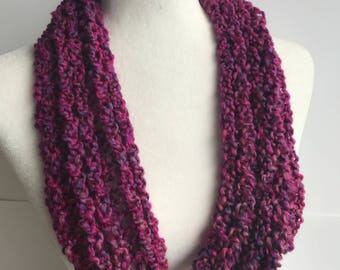 Handmade Knitted Infinity Scarf 3021