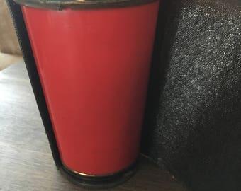 Vintage Martini Bar shaker Enamel
