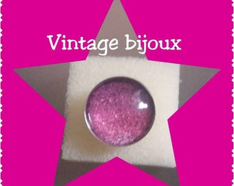 """adjustable silver ring """"glamour and glitz"""""""