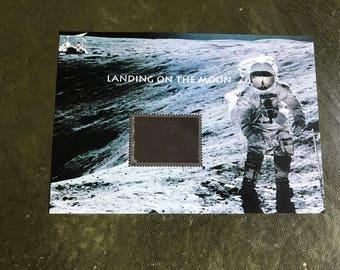 "US Postage Stamp ""Landing on the Moon"""