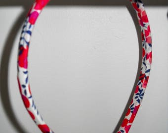 Liberty Wiltshire red child headband