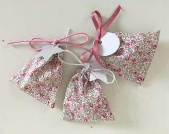 Pouch sweets Liberty Eloise pink