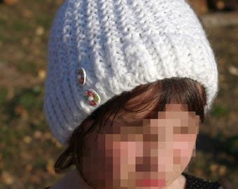 Woman/child Hat handmade knit