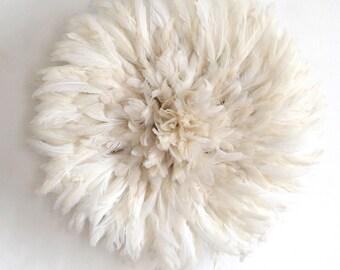 Juju Hat Blanc Pure / Juju Hat Pure White / Coiffe Aka Blanc Pure / Feather Hat Pure White