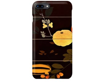 "iPhone case ""Shibata Zeshin Tiered Food Box with Summer and Autumn Fruits""  iPhone5 iPhone6 iPhone7 iPhone8"