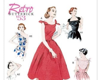 Vintage by B5708 retro Butterick sewing pattern