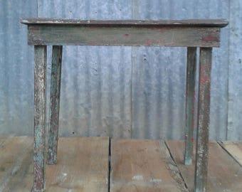 Primitive farmhouse table