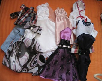 barbie doll clothing set