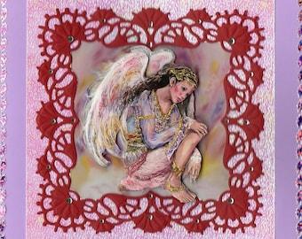 angel 3d card ' s watch