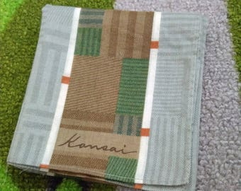 kansai handkerchief cotton 90s accessories