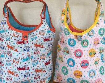 Handmade Camper Van Shopping  Bag